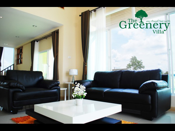 The Greenery Villa Living Room
