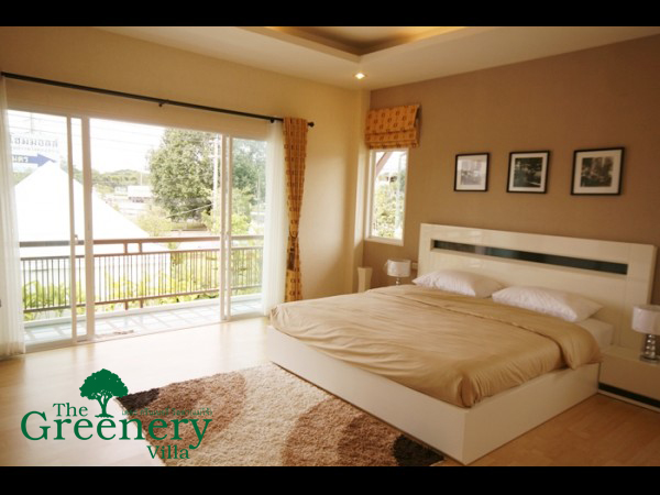 The Greenery Villa Bed Room