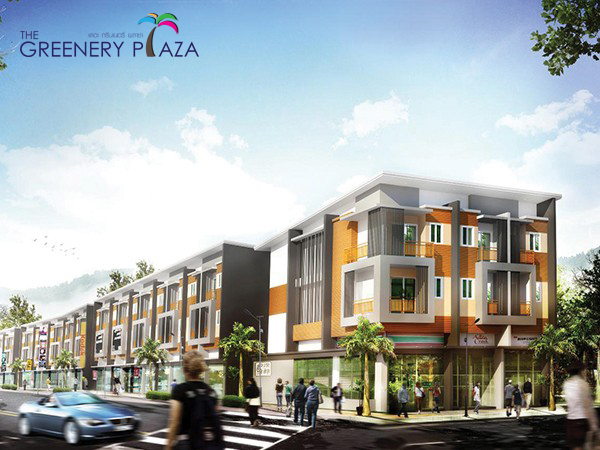 The Greenery Plaza Concept