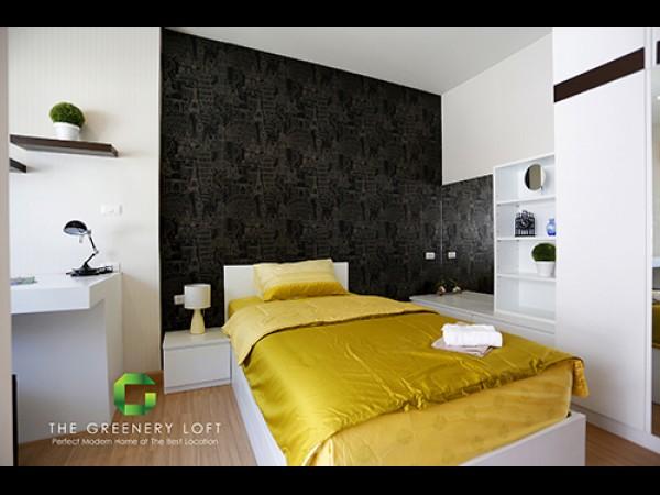 The Greenery Loft Bedroom